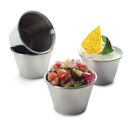 Norpro Stainless Steel Sauce Cups, Set of 4 by Norpro (Image #1)