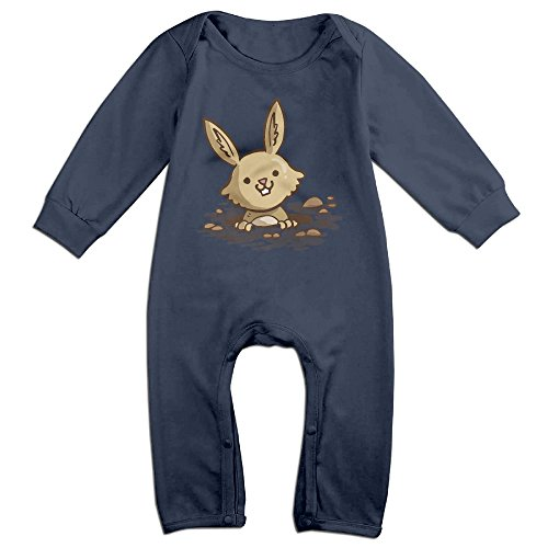 Baby Jumpsuit Onesies, Newborn Girls Boys Rabbit Long Sleeves Coverall Outfits
