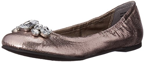 CL by Chinese Laundry Women's Golden Girl Shimm Ballet Flat Tin