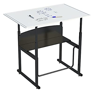 Safco Products AlphaBetter Adjustable-Height Desk from Safco Products Co