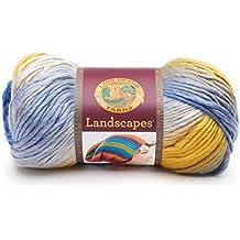 Lion Brand Yarn Company 545-220 Landscapes Yarn, Twilight