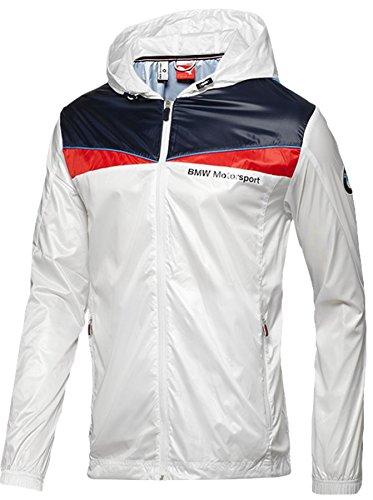 PUMA Men's BMW Lightweight Jacket, White, Large