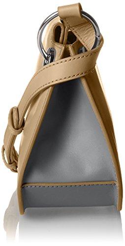Unbekannt Cordoba 6, Borsa a tracolla Donna Mehrfarbig (Camel/ Cognac)