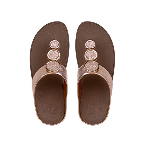 rose Toe Para Chanclas Rosa Tm Fitflop 323 Gold Halo Mujer Sandals Thong RwRBzq7