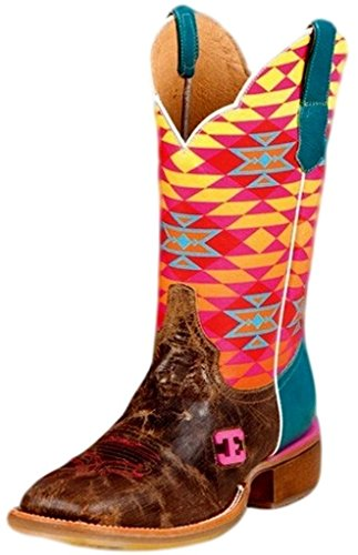 Women's Cowboy Boots Cinch Edge Aztec Fritzy Square Toe Cowg