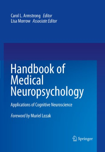 Handbook of Medical Neuropsychology Pdf