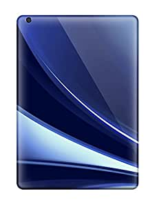 ZippyDoritEduard Perfect Tpu Case For Ipad Air/ Anti-scratch Protector Case (abstract Blue )