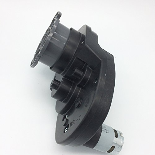 12V 30000RPM Gearbox for Power Wheels 12 Volt Electric Motor with Gear Box for Mustang Kids Ride On Car Parts