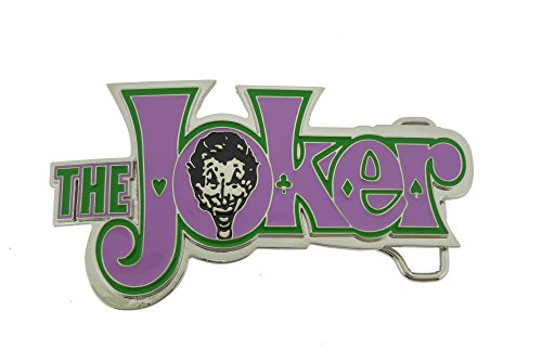 - Batman Movie Joker the Character Text Joker in Rhinestones Finished Belt Buckle.
