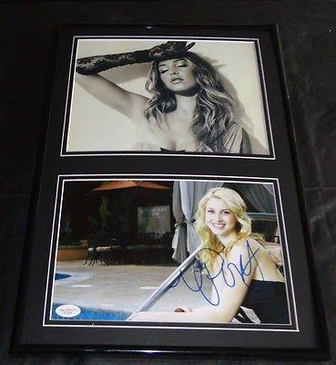 Whitney Port SEXY Signed Framed 12x18 Photo Set JSA The Hills (Port Framed)