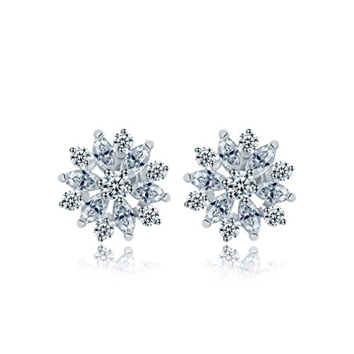 Bella Lotus Marquise Plated Earrings product image