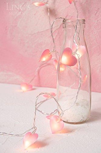 Pink Heart Led Lights in US - 3