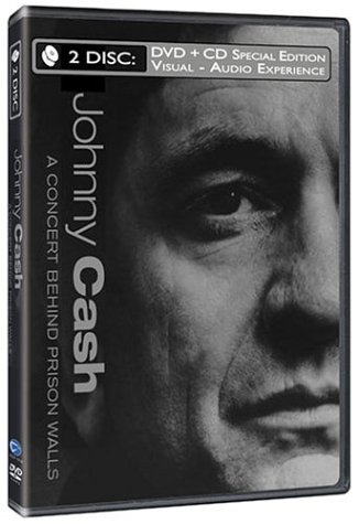 Johnny Cash - A Concert Behind Prison Walls (with Audio CD) by RED Distribution