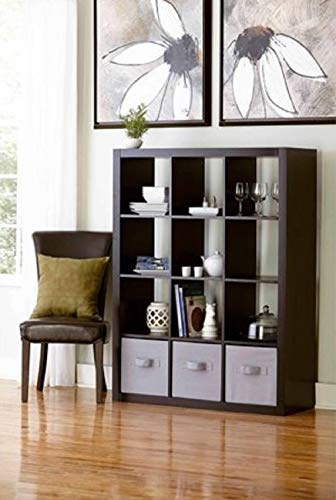 Better Homes and Gardens.. Bookshelf Square Storage Cabinet 4-Cube Organizer (Weathered) (White, 4-Cube) (Espresso, 12-Cube) from Better Homes and Gardens..