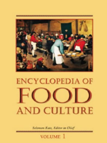 Encyclopedia of Food and Culture (Scribner Library of Daily Life) (3 Volume Set)