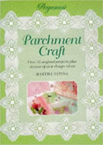 Pergamano Book Of Parchment Craft Step By Step Crafts Martha