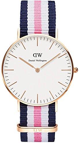 Daniel Wellington 0506DW - Reloj para Mujeres, Correa de Nailon: Amazon.es: Relojes