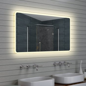 Design Bagno LED specchio specchio luce specchio, 140x70: Amazon.it ...