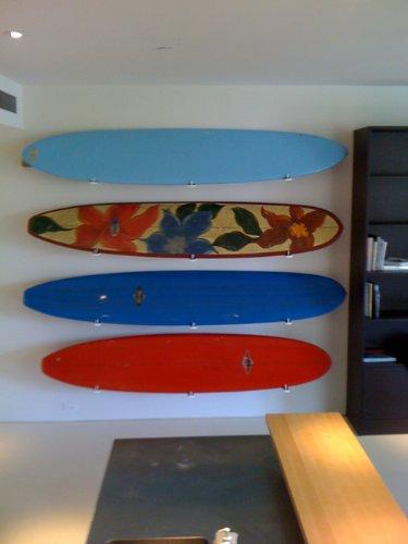 Hawaiian Gun Rack Blonde K-rack Surf/sup Display Rack