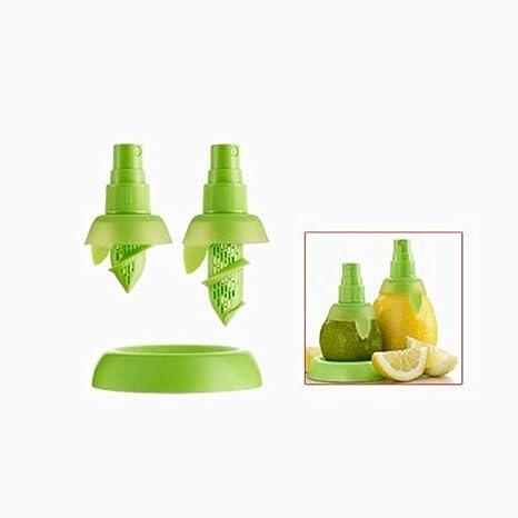 Ouken cítricos limón Ensalada de Naranjas Zumo exprimidor Extractor de aspersión 2pcs atomizador