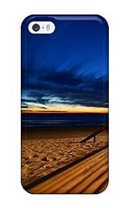 LtDevHM1125DArNJ Faddish Beach Blue Skies Case Cover For Iphone 5/5s