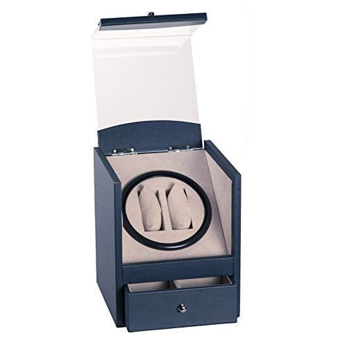 2-4-navy-blue-leather-dual-double-watch-winder-box-ac-dc-battery-operated-automatic-rotation-w-drawe