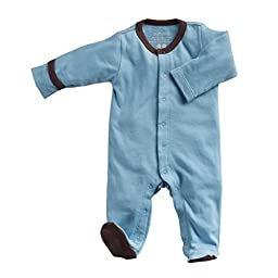 Baby Soy Soft Footie (6-12 months, ocean)