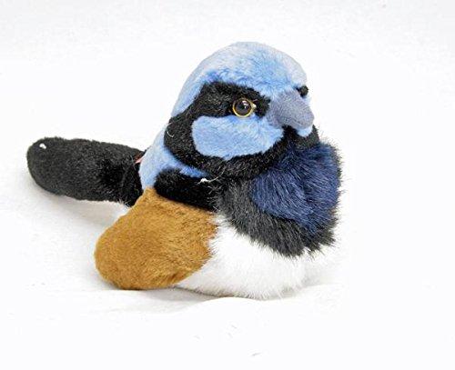 - Wild Republic Fairy Wren Bird Stuffed Animal Plush Toy w/Sound 7