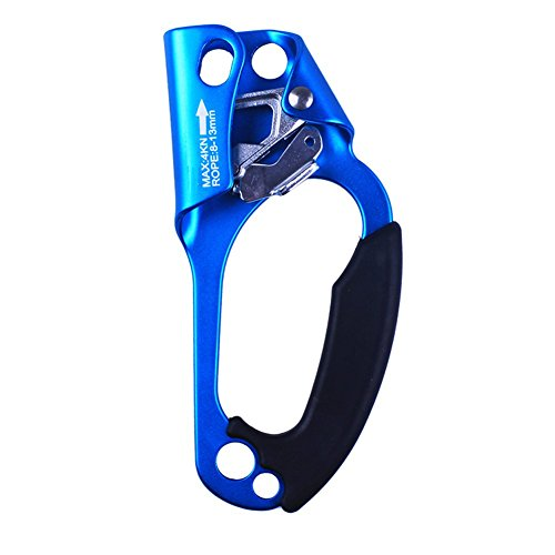Right Hand Ascenders, Outdoor Equipment Stainless Steel Hand Type Ascenders, Random Colors by Kedera