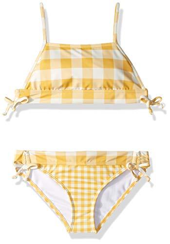 Billabong Girls' So Golden Band Tank Bikini Set Sunflower 8 ()