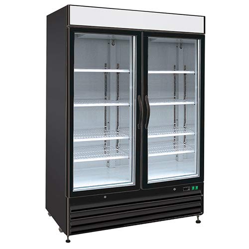 Kratos Refrigeration 69K-708 Swing Glass Door Freezer, 2 Doors