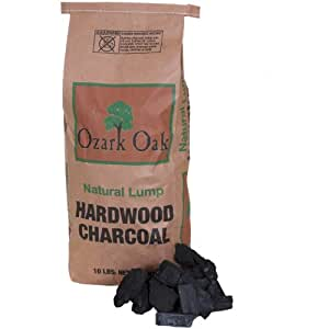 Amazon Com Ozark Oak Premium Hardwood Lump Charcoal