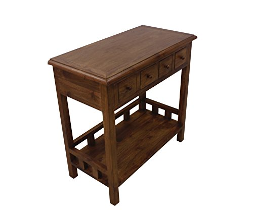 NES Furniture Nes Fine Handcrafted Furniture Solid Teak Wood Greta Console Table - 32