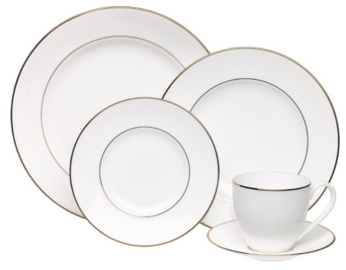 - Lenox Continental Dining Gold 5-Piece Place Setting