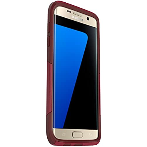 OtterBox COMMUTER SERIES Case for Samsung Galaxy S7 Edge - Frustration Free Packaging - FLAME WAY (FLAME RED/GARNET Sales