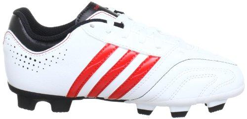 adidas Performance 11Questra TRX FG J Q23864 Jungen Fußballschuhe Weiß (RUNNING WHITE FTW / VIVID RED S13 / BLACK 1)