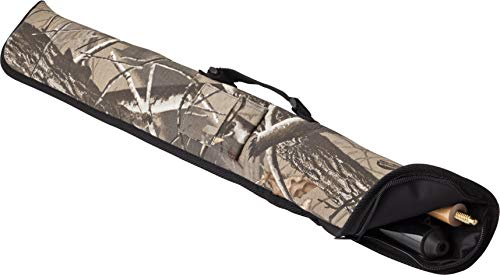 - Viper Billiard/Pool Cue Soft Vinyl Case, Holds 1 Complete 2-Piece Cue (1 Butt/1 Shaft), Realtree Hardwoods HD Camo