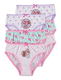 Lol Girls Underwear | Briefs 6-Pack Size 6