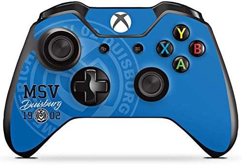 DeinDesign Skin kompatibel mit Microsoft Xbox One Controller Folie Sticker MSV Duisburg Offizielles Lizenzprodukt Bundesliga
