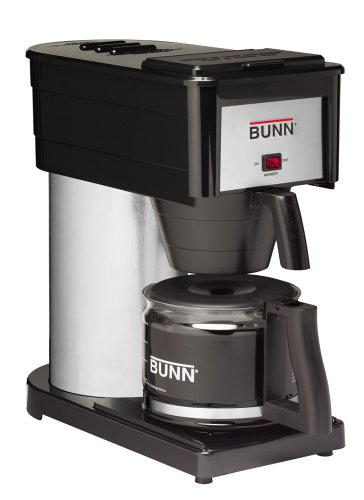 BUNN BX Velocity Brew 10-Cup Coffee Brewer, Black