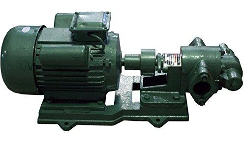 Duda Diesel KCB083 Kcb 83.3 Gear Oil Pump, 45 psi, 110V/120V, 3 hp, Wvo Biodiesel Fuels, 22 GPM Maximum Flow Rate, Stainless Steel