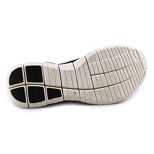 Nike Womens Free Flyknit Chukka Scarpe Da Corsa Nero / Volt-hyper Punch Noir / Volt-hyprpc
