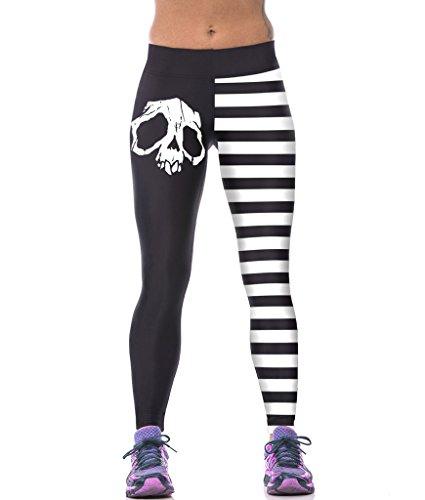 ZIOOER Fitness Printed Stretch Legging