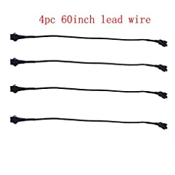 Kingshowstar 4pc 60inch Extension Cords ...