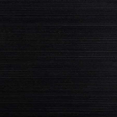 | Gummil/äufer Meterware Feinriefenmatte schwarz 3mm Gummimatten 180cm breit