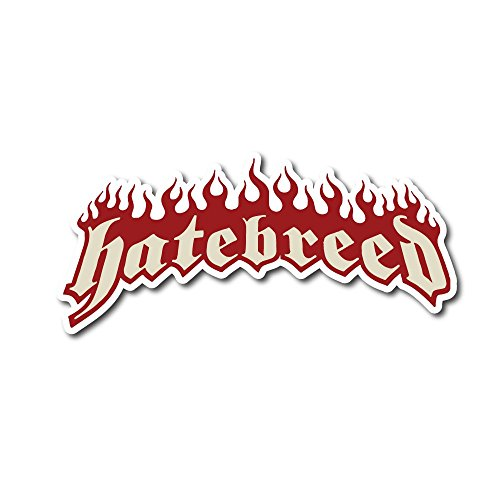 Hatebreed Sticker Rock Band Decal for Car Window, Bumper, Laptop, Skateboard, Wall, ETC. (5