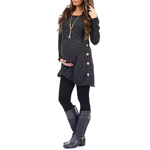 Women's Maternity Tunic Dress wi...