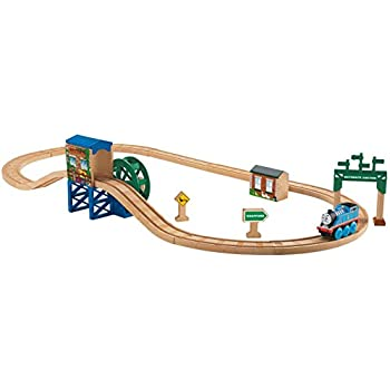 Fisher-Price Thomas & Friends Wooden Railway, Steaming Around Sodor - Battery Operated