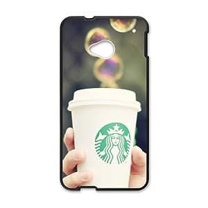 DASHUJUA Magical Starbucks design fashion cell phone case for HTC One M7