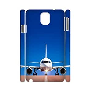 Airplane Takeoff Design Cheap Custom 3D Hard Case Cover for Samsung Galaxy Note 3 N9000, Airplane Takeoff Galaxy Note 3 N9000 3D Case
